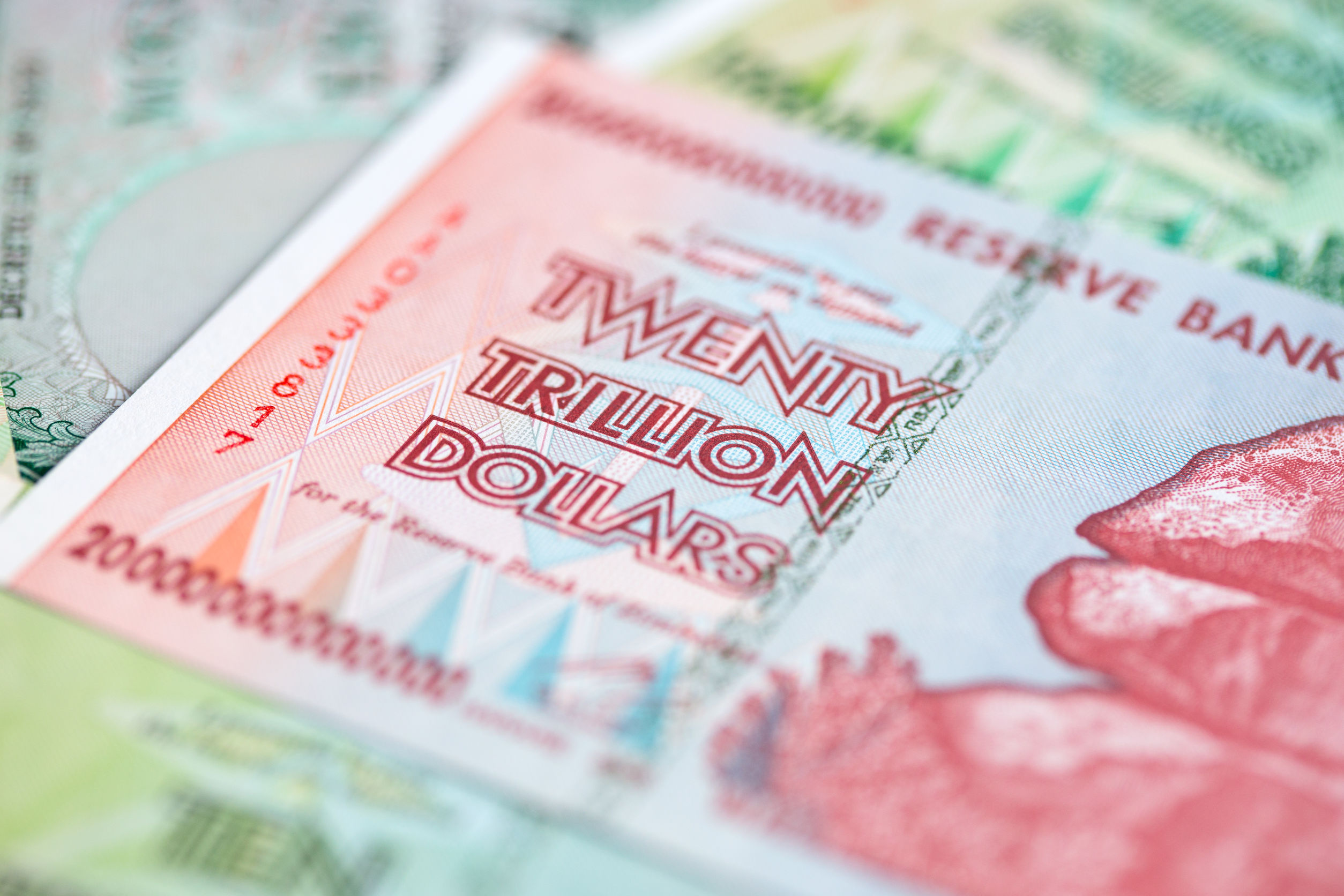 banknot zimbabwe