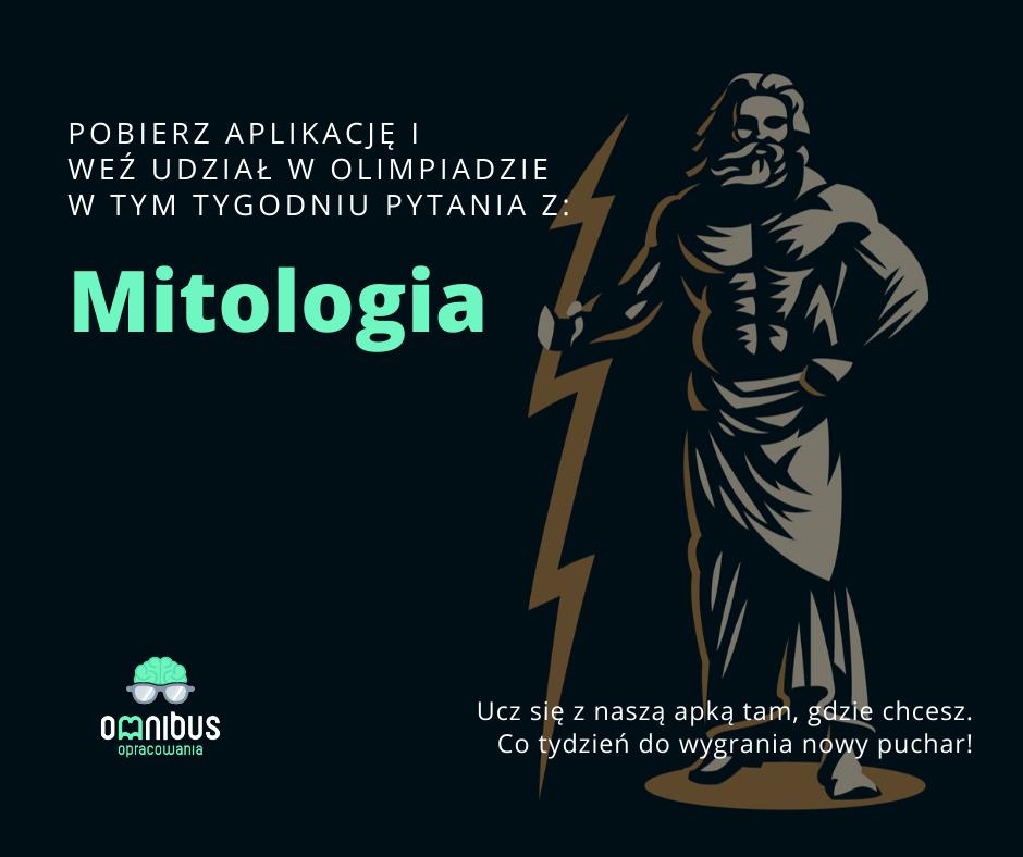Omnibus - zajawka olimpiady z mitologii