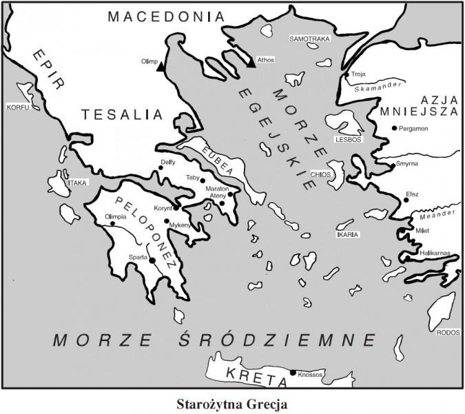 Starozytna Grecja Warunki Zycia W Grecji Historia Opracowania Pl