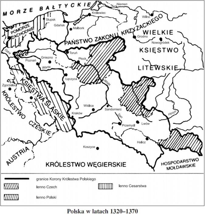 Polska w latach 1320-1370