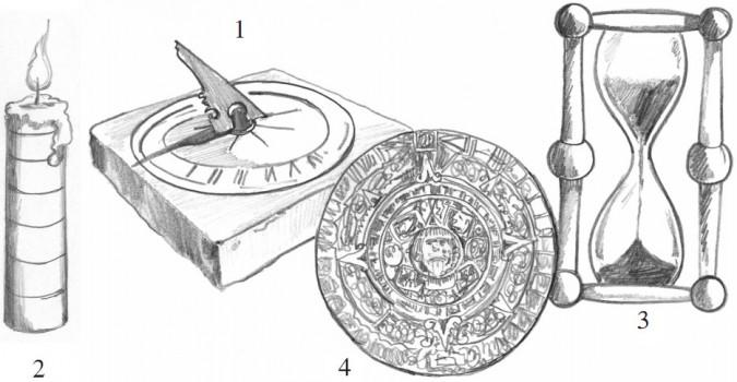Dawne zegary i kalendarze