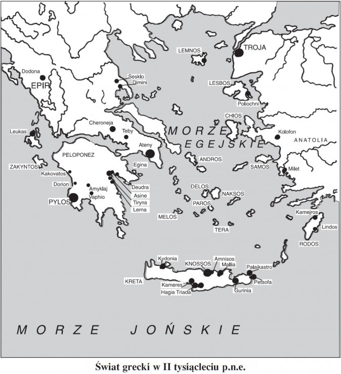 Świat grecki w II tysiącleciu p.n.e.