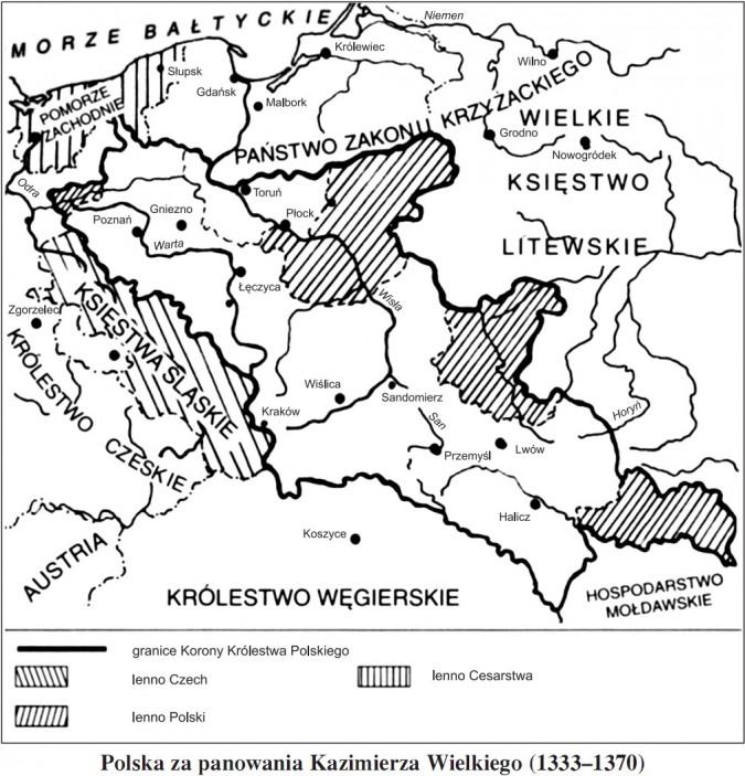 Polska za panowania Kazimierza Wielkiego (1333-1370)