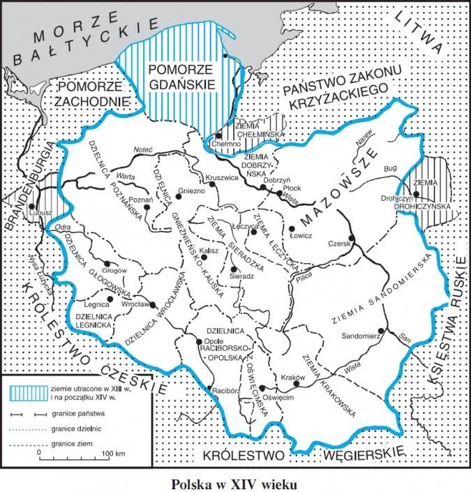 Polska w XIV wieku