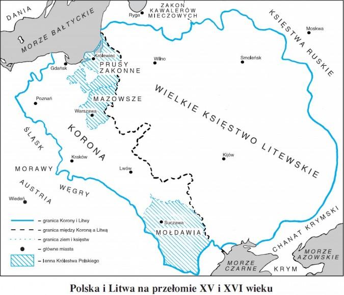 Polska i Litwa na przełomie XV i XVI wieku