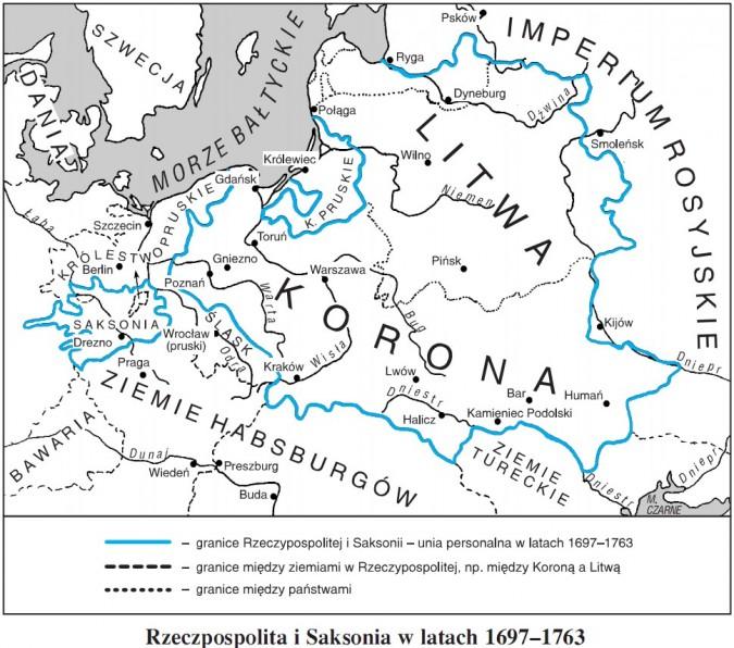 Rzeczpospolita i Saksonia w latach 1697-1763
