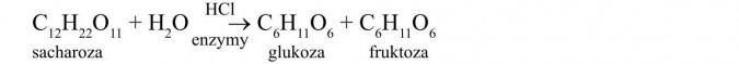 Dwucukry. Sacharoza, enzymy, glukoza, fruktoza.