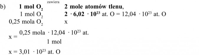 Mol i masa molowa.